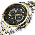 TEMEITE 2019 Men Watch Quartz Sport Multifunction Watches Mens Business Steel Waterproof Wrist watch for men Relogio Masculino