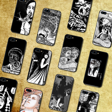 Junji ito tees horror telefone caso capa casco para huawei honor 7a 8 8s 8a 8x9x10 20 i lite pro preto hoesjes pintura escudo