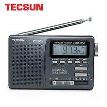Цифровой fm радиоприемник TECSUN, портативный многодиапазонный радиоприемник Fm/MW/SW, FM:76 108 MHz/MW:525 1610 кГц/SW: 5,95 21,85 МГц