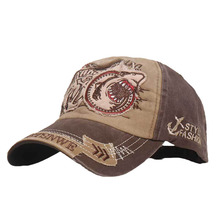 Embroidered Unisex Fishing Baseball Caps Women's Men's Outdoor Cotton Cap  Adjustable for Summer Male Hats 2021 New High Quality
