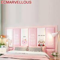 Hoofdboord poduszka Chambre A Coucher Enfant dzieci 3D naklejka ścienna Cabecero Cama Pared Cabeceira łóżko Tete De Lit zagłówek na