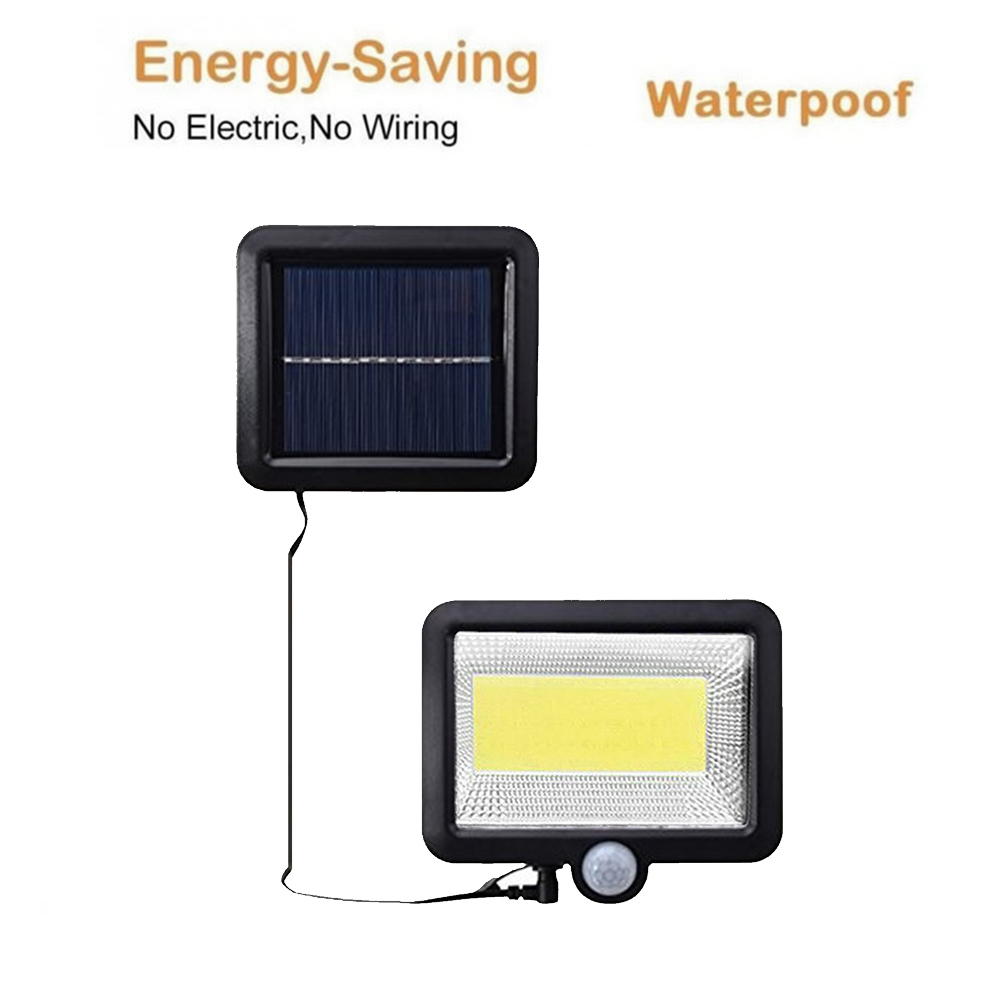 LED Solar Light 56/30 Leds Solar Lamp Motion Sensor Wall Lamp Garden Street Light Outdoor Waterproof Emergency Night Light Split
