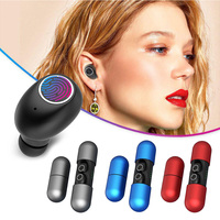 Binaural Bluetooth 5.0 Earbuds Headset V8 Sport Wireless Earphones+Charging Box Brand new and high quality