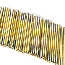 100PCS/Pack of P100-J1 Spring Test Probe  Pogo Pin Outer Diameter 1.36mm Needle Length 33.35mm for Circuit Board Testing