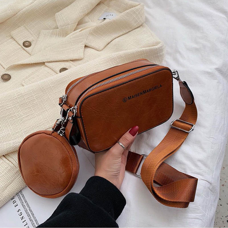 Women Messenger Bag PU Leather Shoulder Bag Small Square Crossbody Bag Fashion Luxury Handbag Women Bags Designer Bolso Mujer