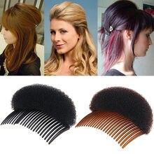 Женская мода зажим для укладки волос увеличение объема гребень палочка булочка коса инструменты подарок вечерние сувениры