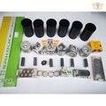 For Mitsubishi 6d16 ENGINE REBUILD KIT 6D16T PISTON RING CYLINDER LINER GASKET BEARING