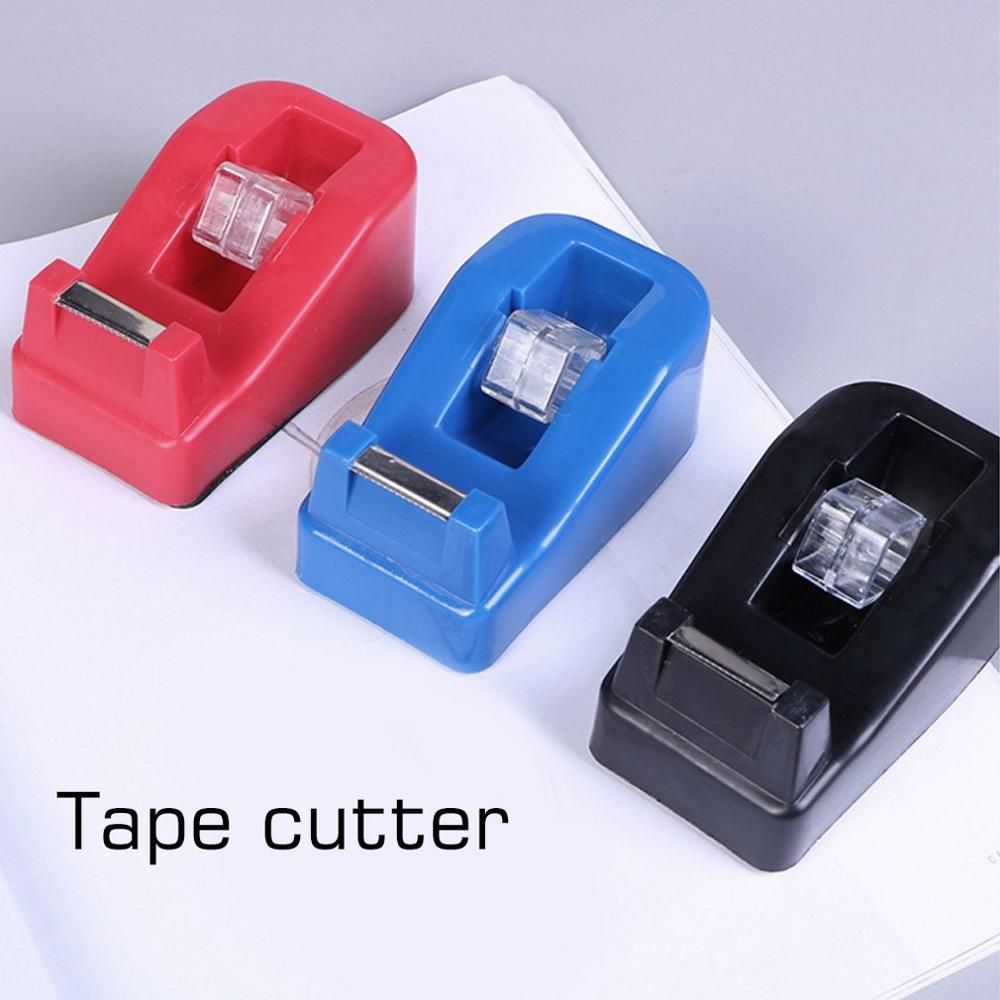 Creative Tape Dispenser Portable Size Candy Color For Adhesive Tape Novelty Design Office School Stationary