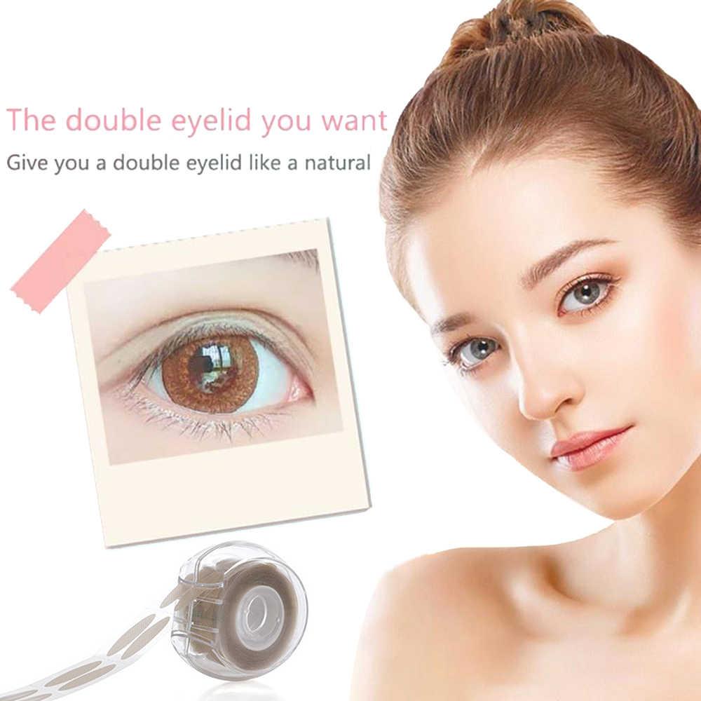 Accesorios de maquillaje de belleza, 600 Uds. S/L, malla de encaje Invisible plegable, banda para levantar los párpados, pegatinas, raya Beige clara, Natural, utensilio de maquillaje de ojos grandes
