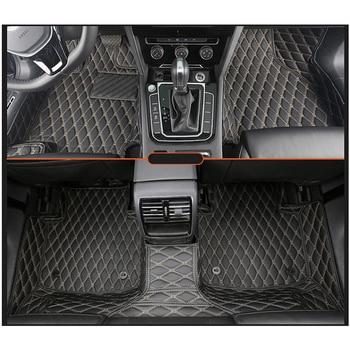 цена на lsrtw2017 leather car floor mat rug carpet for volkswagen passat cc arteon 2008-2020 2019 2018 2017 2016 2015 2014 2013 vw auto