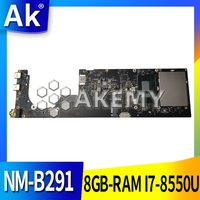 NM B291 Laptop motherboard for Lenovo YOGA 920 13IKB original mainboard 8GB RAM I7 8550U