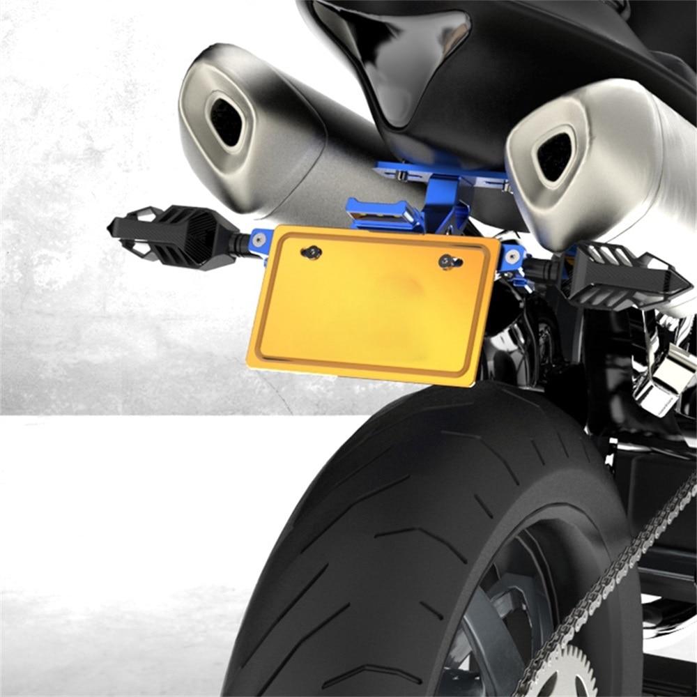 Мотоцикл светодиодный номерной знак для Moto Aprilia shiver 750 Patente Moto Bmw S1000Rr светодиодный Matricula Moto Pulsar 200 Ns Bmw R Nine