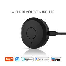 New Universal IR Smart Remote Control WiFi Infrared Home Control mini Hub Tuya Smart life App Works with Google home Alexa cheap EJLINK None Almost Ready Tuya smart IR remote Slot 2 Channels Mini USB 5V-1A 360 ° 2 4GHz IEEE 802 11b g n Tuya smart or Smart Life