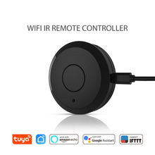 New Universal IR Smart Remote Control WiFi/Infrared Home Control mini Hub Tuya Smart life App Works with Google home Alexa