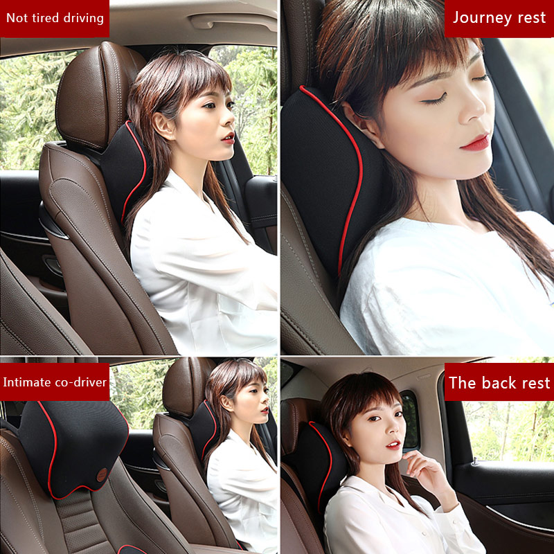 Car Seat Lumbar Support Pillow Cushion Back Pillow Memory Cotton Lumbar Support For Office Chair Cushion For Car Auto 5