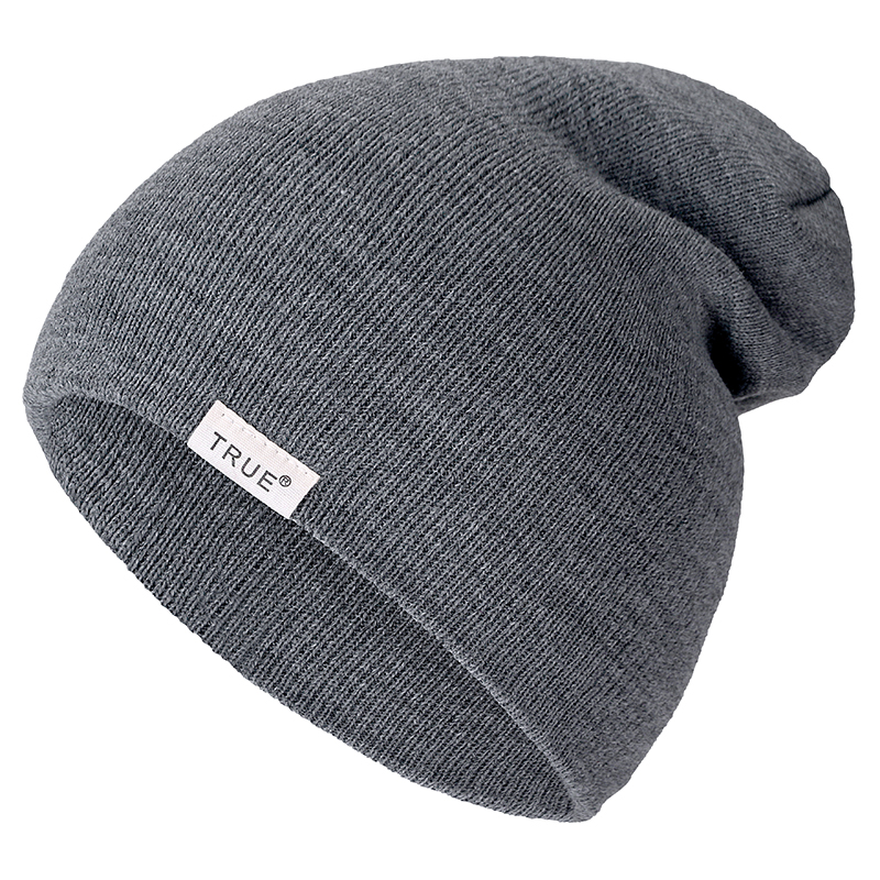 New Brand 10 Colors True Casual Beanies For Men Women Fashion Knitted Winter Hat Solid Hip-hop Skullies Hat Bonnet Unisex Cap