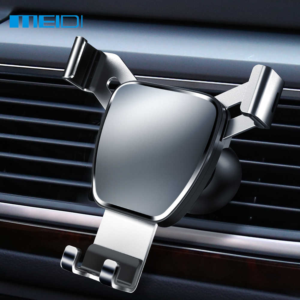 MEIDI Universele Zwaartekracht Auto Bracket Auto Vent Mobiele Telefoon Houder Auto Air Vent Mount Voor Smart Telefoon Auto Accessoires