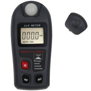 Medidor portátil multifunction handheld da iluminação de luxmeter da precisão alta do medidor MT-30-200000lux de digitas 0.1