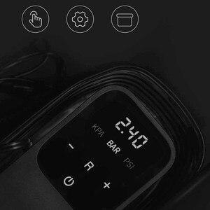 Image 5 - 70mai ضاغط الهواء 12V سيارة نافخة الإطارات 70 ماي المحمولة مضخة هواء كهربائية 100PSI الرقمية البسيطة ضاغط إطار غير قابل للنفخ مضخة