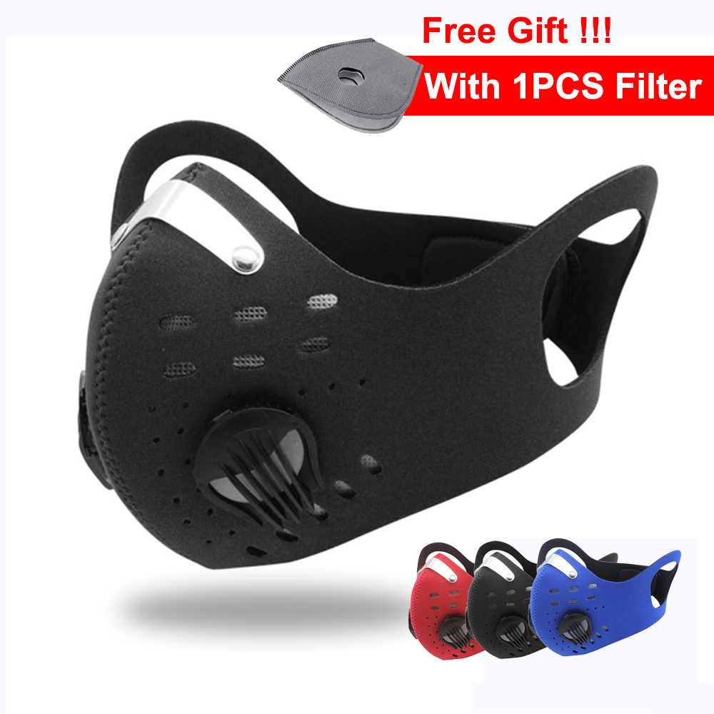 Mascherine Dust Mask Face Protective 4 Layers Prevent PM2.5 Mouth Respirator Fpp3 Mask With Filter Ace Mask Masque Fpp2 F
