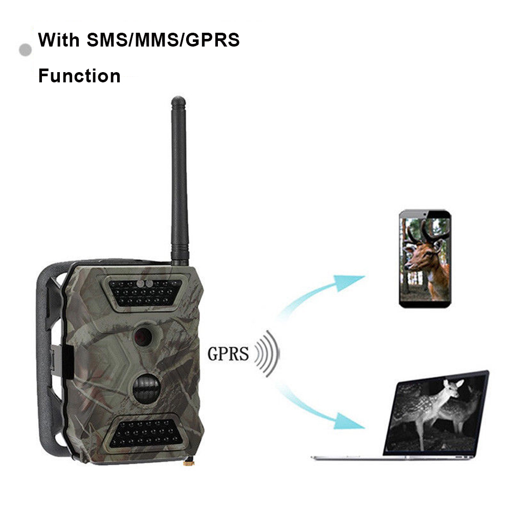 Com MMS GPRS SMTP FTP 12MP HD1080P