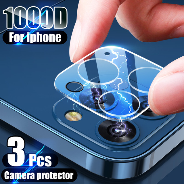 3Pcs Camera Tempered Glass For iphone 11 12 Pro Max X XR XS MAX Mini Lens Screen Protector On iPhone 6 6S 7 8 Plus SE 2020 Glass 1