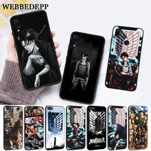 Levi Ackerman Attack on Titan Silicone Case for Xiaomi Redmi 4A 4X 5A 5 Plus S2 6 6A 7 7A K20 Pro Go(China)