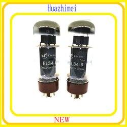 2 sztuk EL34B EL 34 B EL34 B lamp elektronowych w Złącza od Lampy i oświetlenie na