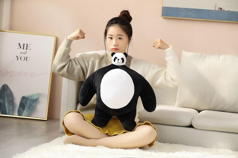 grosse tete peluche panda geant
