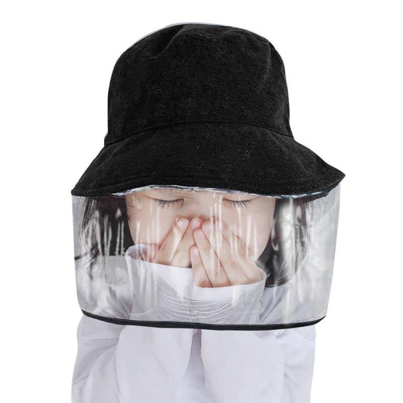 2020 Hot Sale Hat Girls Korea Anti-fog Hat Epidemic Protective Cap Anti-saliva Men And Women Basin Cap Out Fisherman Bucket Hat