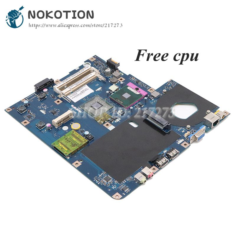 NOKOTION MBN5402001 MB.N5402.001 PC Motherboard For Acer EMachines E525 E725 5732Z MAIN BOARD KAWF0 LA-4851P DDR2 Free CPU