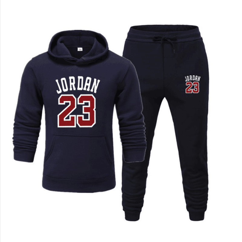 Men's Sports Suits,Spring Autumn 2020,Men's Casual Hoodie,Jogging Pants Homme Pullover,Number 23 Sweatshirts,S/M/L/XL/XXL/XXXL
