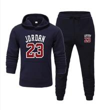 Men's sports suits,Spring Autumn 2020,Men's Casual Hoodie,Jogging Pants Homme Pullover,Number 23 Sweatshirts,S/M/L/XL/XXL/XXXL женские брюки s m l xl xxl xxxl kz9012 women pants