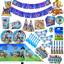 Paw Patrol Birthday Party Decoration Patrol Paw Toys Set Cartoon Rescue Dog Anime Action Figure Model Patrol Paw Toy Child Gift