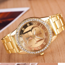 Zegarek damski newest Luxury brand CH women watches Reloj mujer Gold stainless w