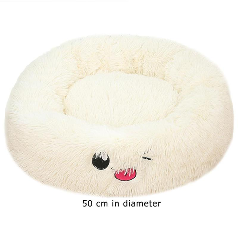 Lamb Velvet Plush Dog Cat Beds Soft Plush Pet Sofa Waterproof Bottom Nest Baskets Sleeping Cushion Household Supplies 30