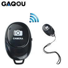 GAQOU Mobile Phone Bluetooth Wireless Remote Control Monopod Selfie Stick Shutter Self timer Remote Shutter for IOS Android