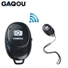 GAQOU téléphone portable Bluetooth télécommande sans fil monopode Selfie bâton obturateur retardateur obturateur à distance pour IOS Android