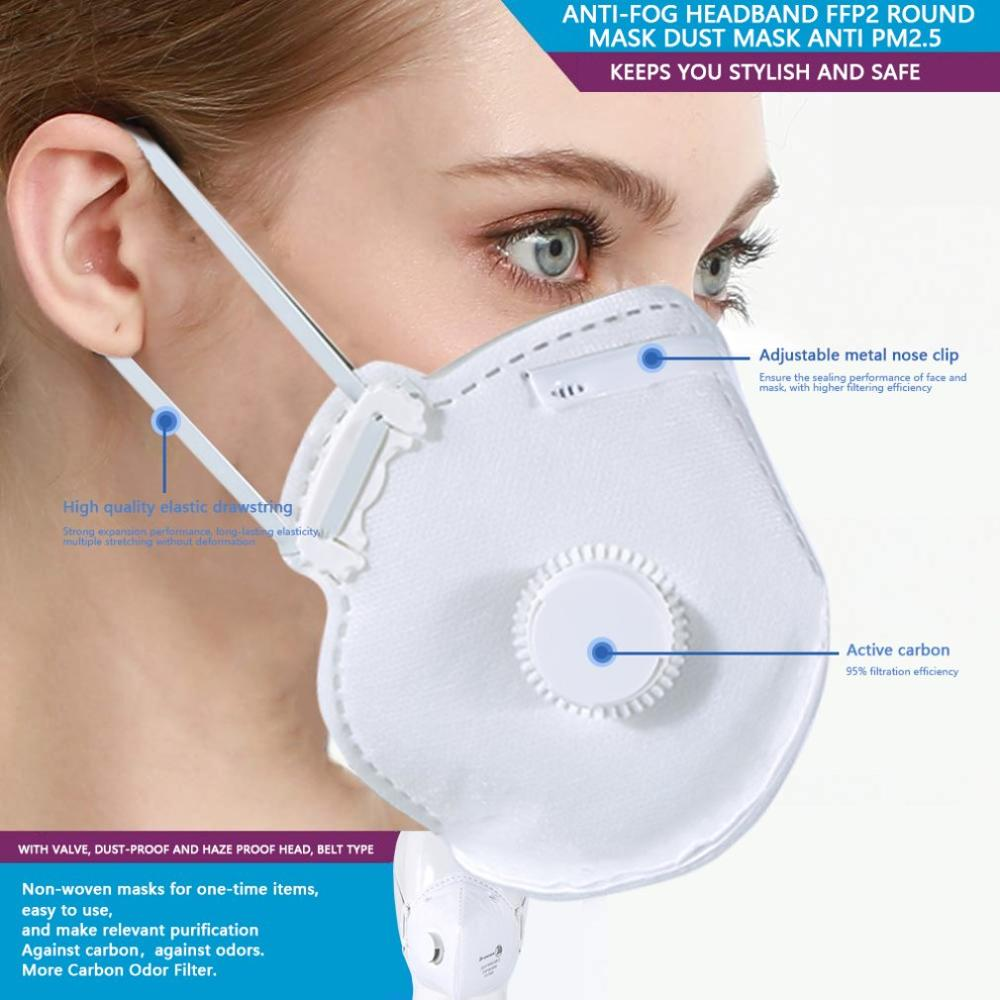 Dust-Proof FFP1 FFP2 FFP3 N95 Masks Mouth Mask Anti Pm2.5 Anti Influenza Disposable Cycling Face Mask For Kids Adult Filter Mask