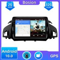Car Radio cassette tape recorder ForFord Kuga 2013 2014 2015 2016 2017 2018 Android 10.0 With GPS Navi 2G+32G Octa Core DAB SWC