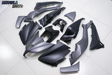 ABS Plastic Black Motorcycle Fairing Kit For Yamaha TMAX 530 2012-2014 honglue for honda diozx af34 af35 motorcycle scooter accessories paint abs plastic front rear fairing kit