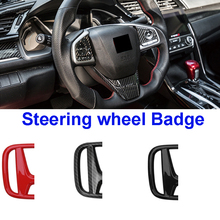ABS Emblem-Sticker Badge-Accessories Steering-Wheel Honda Civic Accord CRV for City-Insight