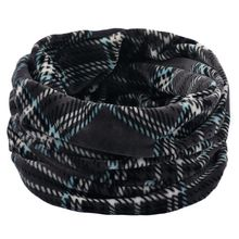 Soft Knitted Scarves Neck Warmer Winter Outdoor Sport Windproof Thermal Loop Scarf Thick Infinity Scarf multi function winter warm scarves soft beanies hat cap female girls red ring scarf mask chunky circle loop scarves neck warmer