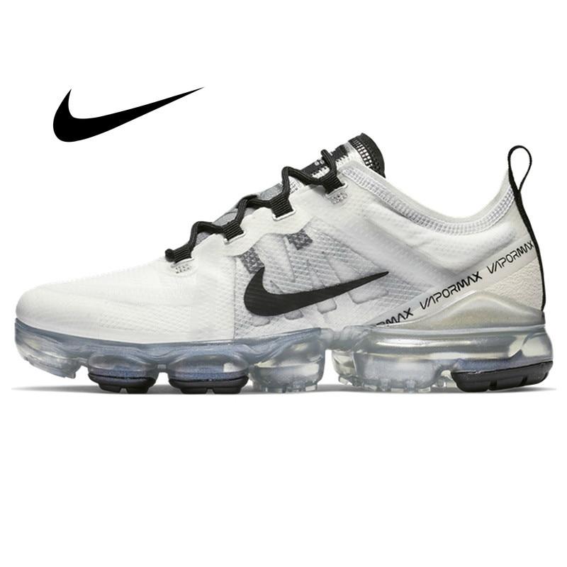 Original Nike Air VaporMax 2019 Women's Running Shoes Comfortable Outdoor Sneakers Jogging Athletic Designer Footwear AR6632-100