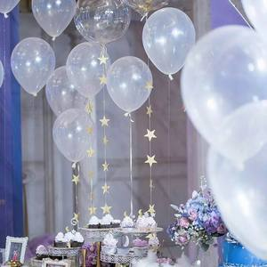 Image 5 - 5/10/12/18/24/36 inch Thick Clear Latex Balloons Transparent Balloons Wedding Party Birthday Decoration Inflatable Air Balls
