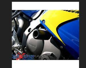 Image 3 - Motorrad No Cut Sturzpads Fallen Schutz Motor Crash schutz Block Für Honda CBR1000RR CBR1000 RR 1000RR 2006 2007