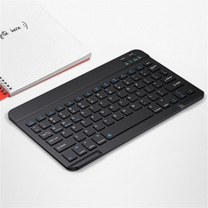 Image 5 - Ultra Slim Russian Spanish Bluetooth Keyboard For IOS Android Tablet Windows For iPad 7.9 9.7 air 10.5 Pro 11 Bluetooth Keyboard