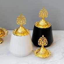Золотой черный белый цвет Керамика металлическая горелка для