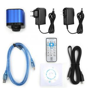 Image 5 - 4k HDMI USB Digital Electric Industrial Microscope Camera with Remote Control 100 240V Microscopio Digital
