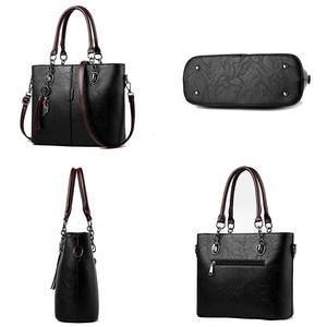 Image 4 - BelaBolso Vintage Tote Bag Per Le Donne Borsa di Cuoio di Grande Capienza del Sacchetto di Spalla Delle Donne Top Handle Crossbdoy Borse Femminile HMB647